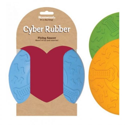 Cyber Rubber Flying Saucer